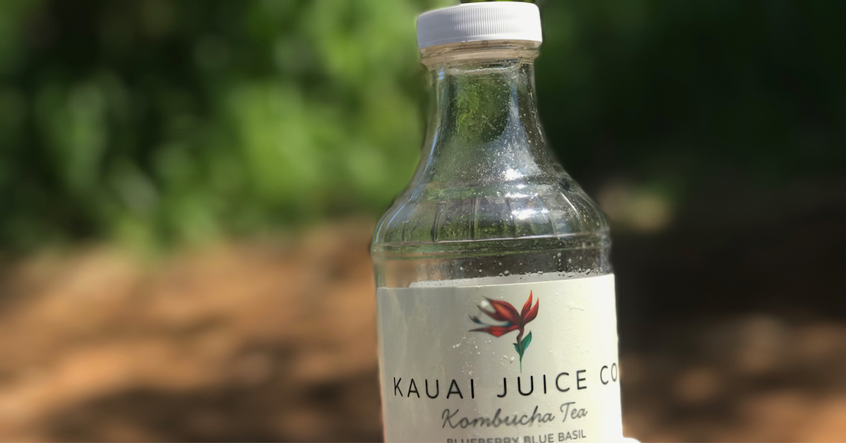 Kombucha at Kauai Juice Co.