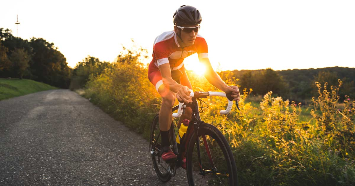Riding at sunset and sunrise can be one of the most enjoyable times to be on the road because there's less traffic, allowing you to focus on your form and help you prevent injuries.