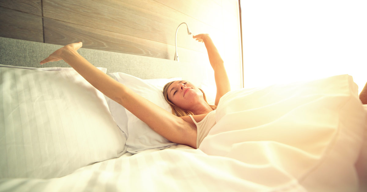 Get a full night's sleep to give your body the rest it needs to fight off the flu.